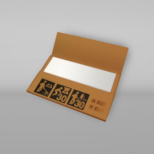 Medium thermoplastik verpackung