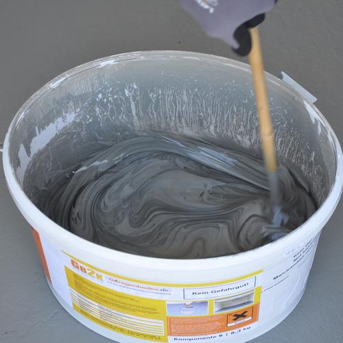 Medium gb2k beschichtung anruehren