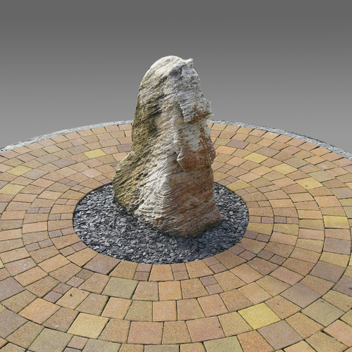 Medium ff steindesign verarbeitet